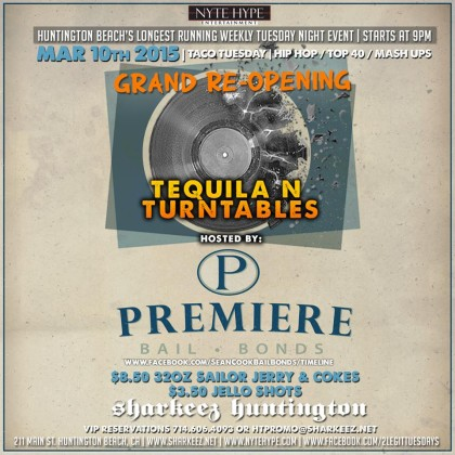 Premiere Bail Bonds and Nyte Hype Entertainment Presents