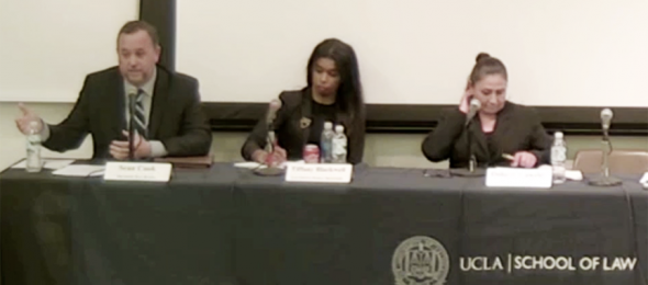Defending The Cash Bail System at UCLA Law School